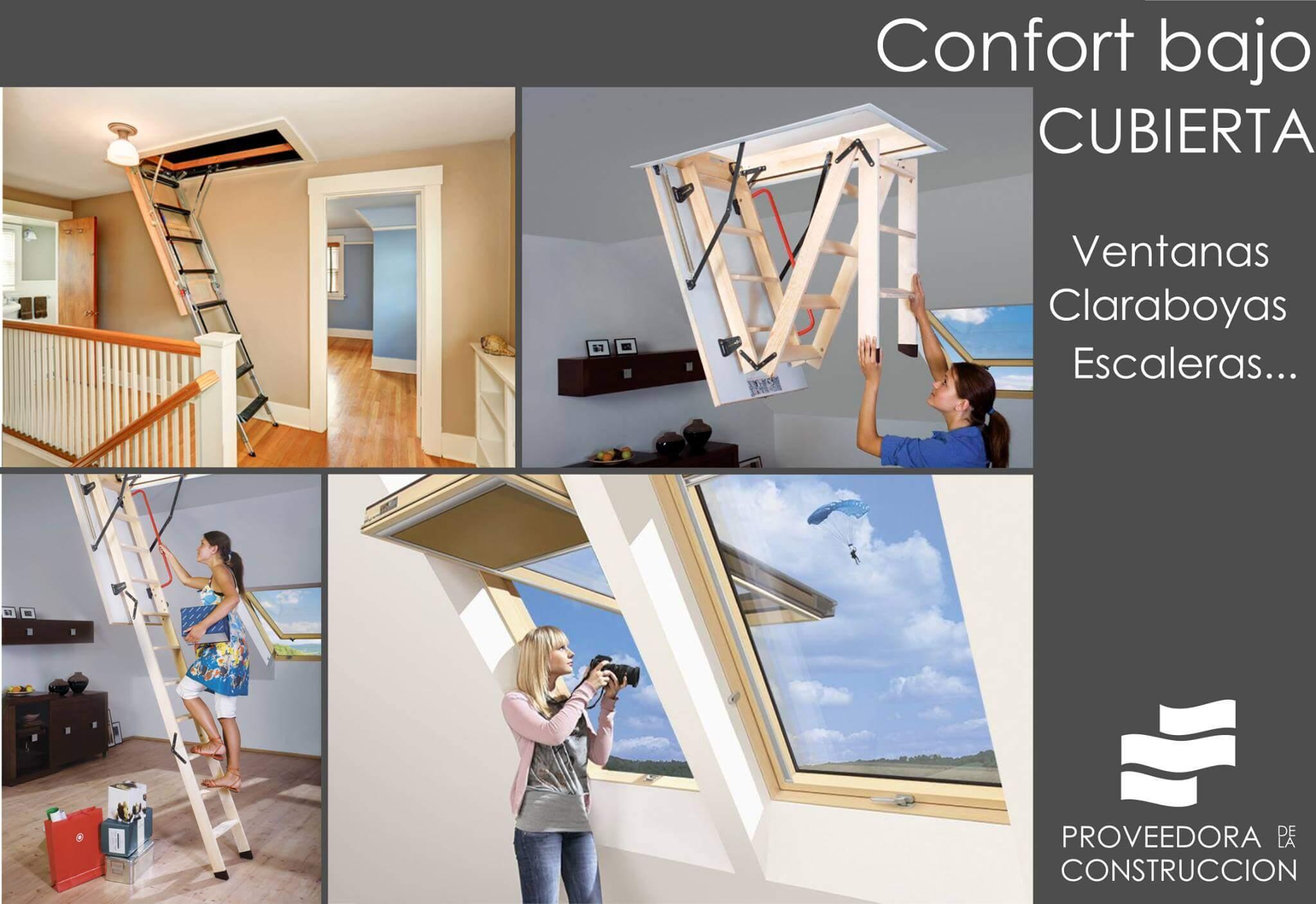 Confort bajo cubierta, ventanas y claraboyas