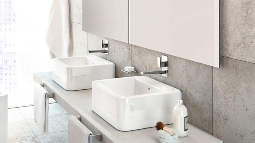 roca accesorios baño