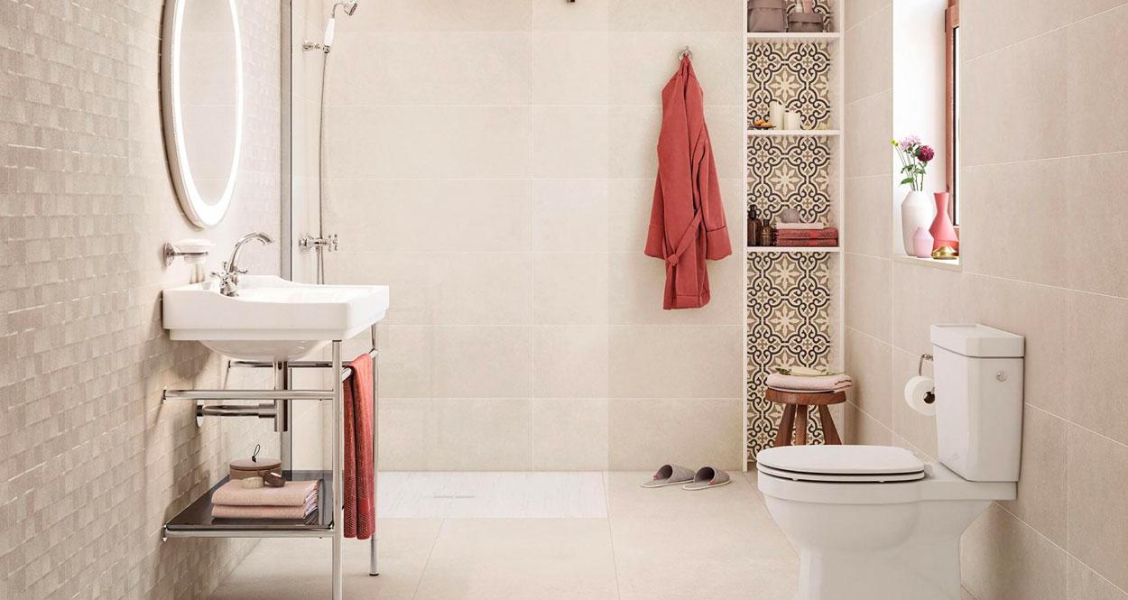 Las tendencias en azulejos para baño y cocina en 2020