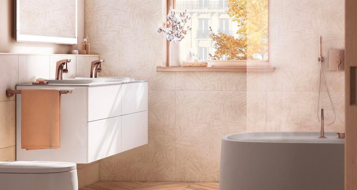 Inspírate con el grifo en oro rosa de Roca By Proveedora In GeneralComments