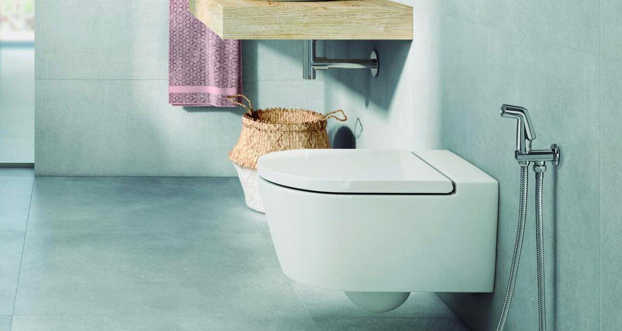 Be Fresh, la ducha higiénica de Roca