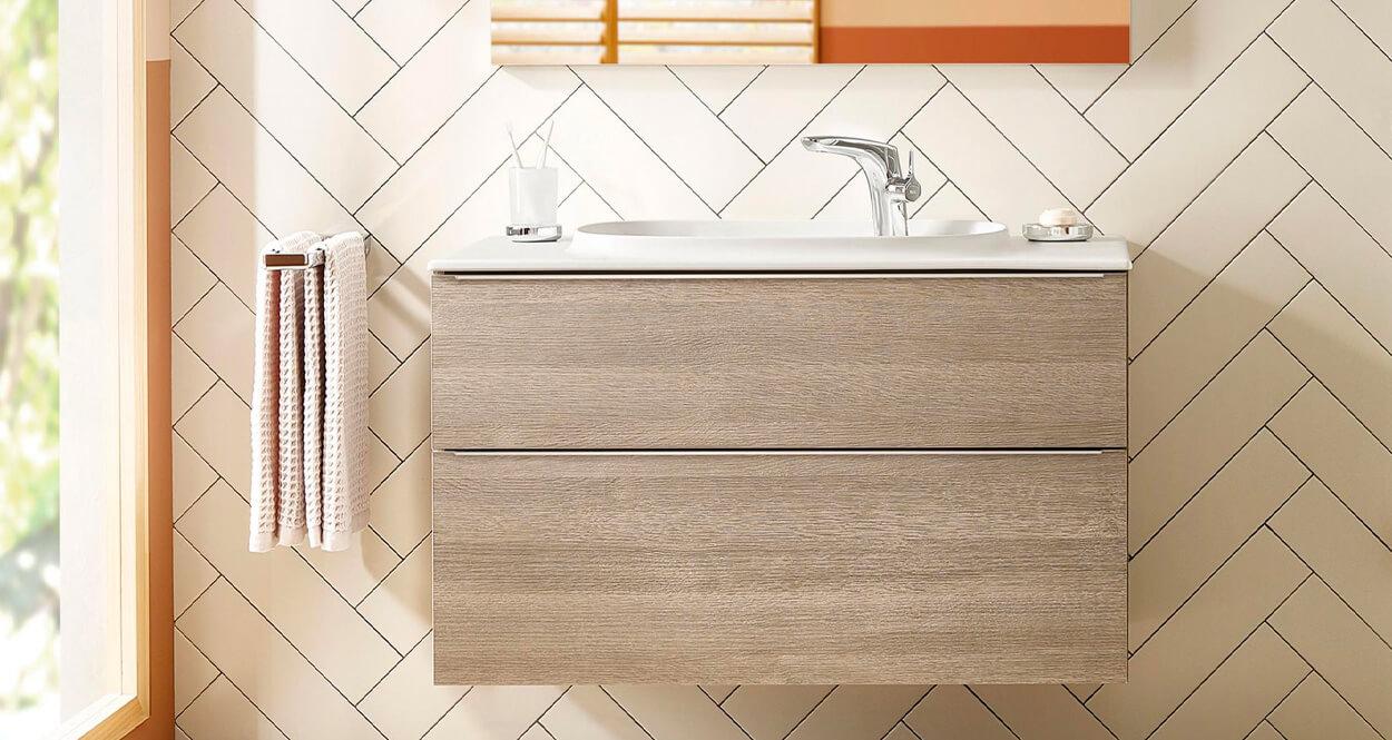 3 claves para escoger muebles de baño modulares